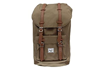 77df226687df Image Unavailable. Image not available for. Color  Herschel Little America  Backpack Cub Tan ...