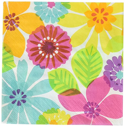Amscan Day in Paradise Party Beverage Napkins | 12 Ct.