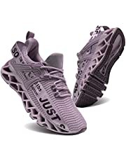 CYAPING Womens Athletic Walking Blade Running Shoes Breathable Lightweight Mesh Tennis Fashion Sneakers