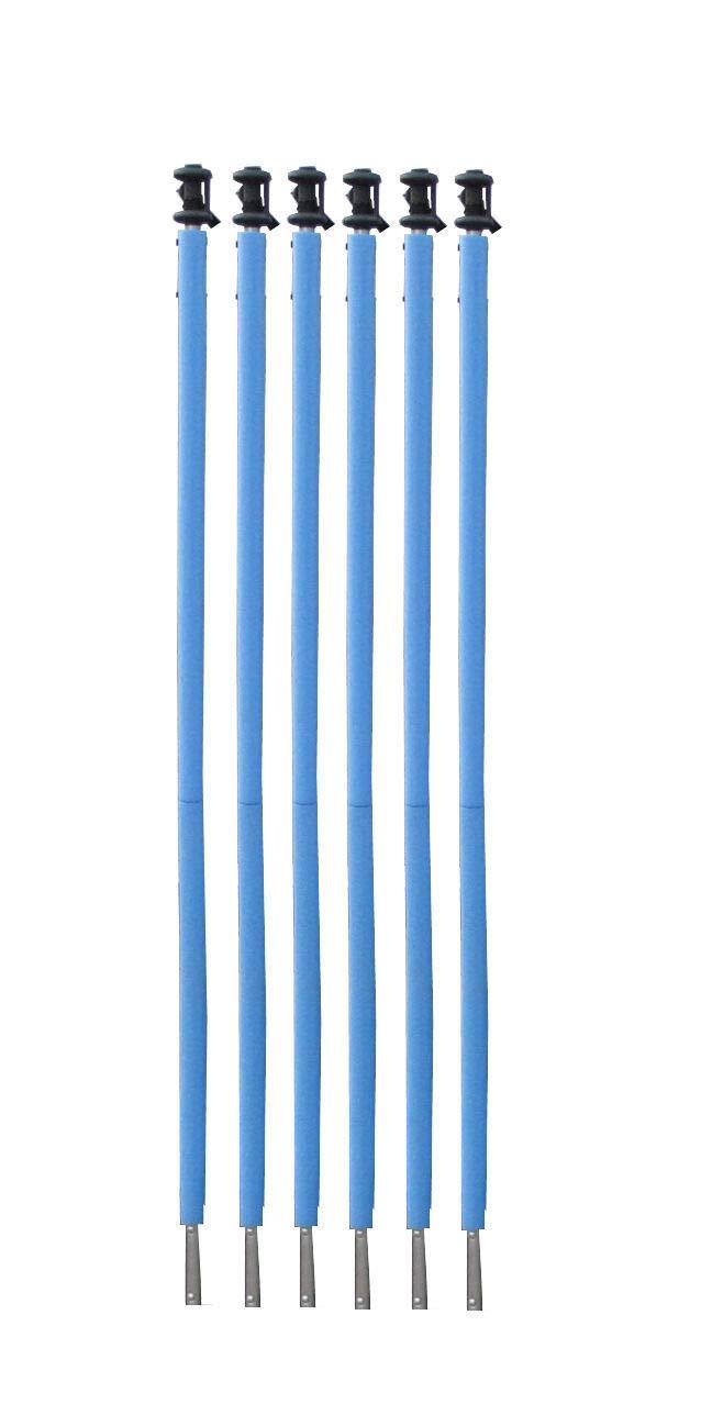 JUMP4FUN - Protecciones de Tubo para Cama elástica Azul Talla 244 ...