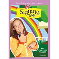Signing Time Series 1 Vol. 6 - My Favorite Things