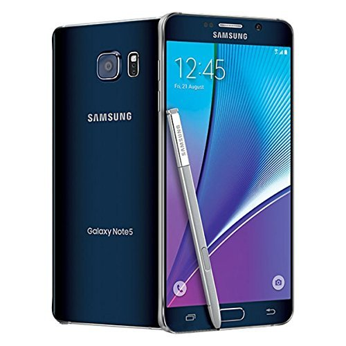 (Samsung Galaxy Note 5 32GB GSM Unlocked - Black (Certified Refurbished) (D132))