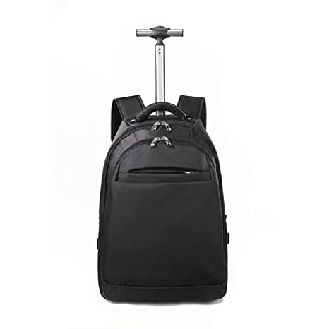 e00264470709 Amazon.com : IF.HLMF Backpack Solid Color Oxford Cloth Boarding ...
