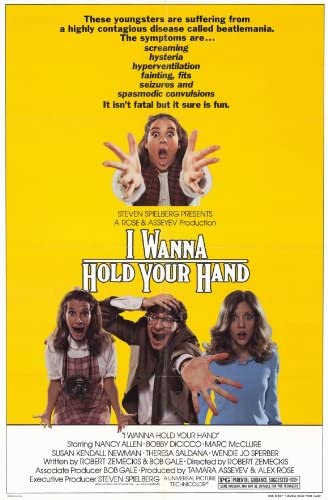 Amazon.com: Movie Posters I Wanna Hold Your Hand - 11 x 17: Posters & Prints