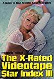 The X-Rated Videotape Star Index, Patrick Riley, 1573926892