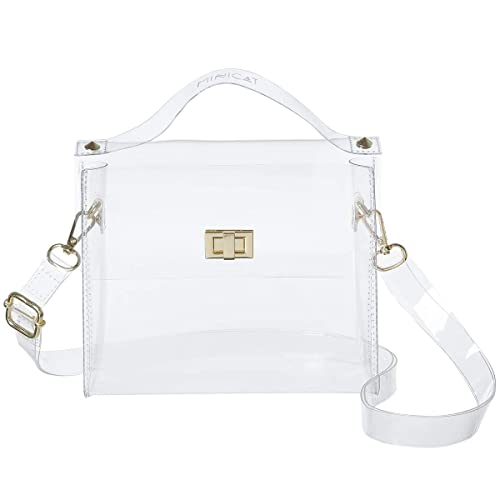 0ac138b953d8 MINICAT Clear Small Crossbody Bags Cell Phone Purse Wallet For Women