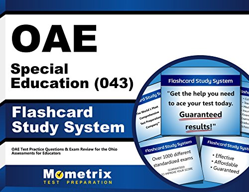 OAE Special Education (043) Flashcard Study System: OAE Test Practice Questions & Exam Review for the Ohio Assessments for Educators (Cards)