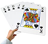 super 11 - Super Giant Jumbo Playing Cards, Full Deck of 8 x 11 Inch Humongous Playing Cards