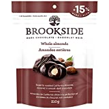 BROOKSIDE Dark Chocolate, Whole Almonds, 210 Gram