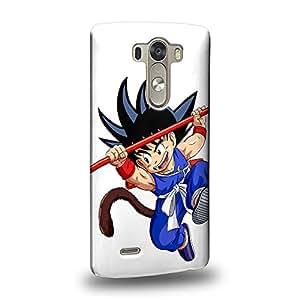 Case88 Premium Designs Dragon Ball Z GT AF Son Goku Carcasa/Funda dura para el LG G3