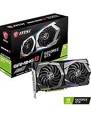 MSI Gaming GeForce GTX 1660 128-Bit HDMI/DP 6GB GDRR5 HDCP يدعم بطاقة الرسومات دايركت اكس 12 ثنائية المراوح VR Ready OC (GTX 1660 Gaming X 6G)