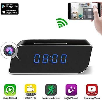 Amazon Com Top Secret Spy Camera Mini Clock Radio Hidden