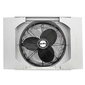 Image of Home and Kitchen Air King 9166F 20' Whole House Window Fan