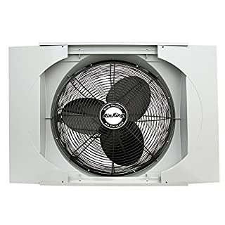 "Air King 9166F 20"" Whole House Window Fan (B0007Q3RQ6) 