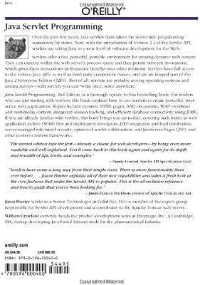 Java Servlet Programming Help For Server Side Java Developers Java Series Hunter Jason Crawford William 9780596000400 Amazon Com Books