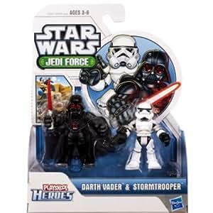 STAR WARS 2011 Playskool JediForce Mini Figura 2 Unidades