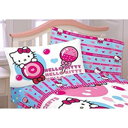 Genial Hello Kitty Sweet U0026 Scented Twin Sheet Set