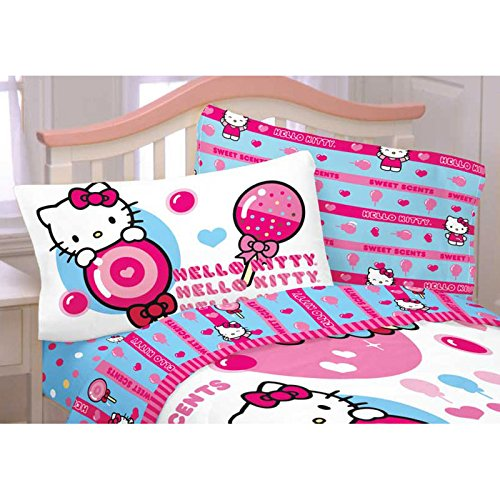 Hello Kitty Sweet & Scented Twin Sheet Set