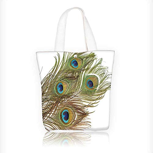 0095f3099a3f Women s Canvas Tote Handbags Collection Macro Peacock Tail