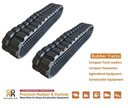 2pc Rubber Track 300x109x41 PEL JOB EB36 EB25.4 MUSTANG ME3503 ME3703 IHI 20Z from Volvo