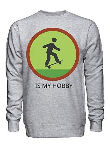 Skating Is My Hobby Unisex Crew Neck Sweatshirt