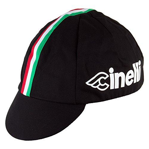 (Pace Sportswear Cinelli Cap, Black, One Size)