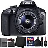 Canon EOS 1300D/T6 DSLR camera with 18-55mm III Lens and Accessories