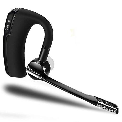 Auricular Bluetooth, Ztotop Auriculares inalámbricos para Auriculares inalámbricos con reducción de Ruido, con micrófono