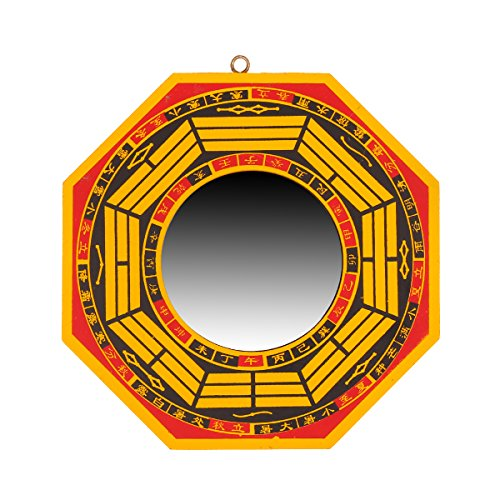 Yaoyijun Traditional Chinese Feng Shui Convex Bagua Mirror & Concave...