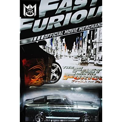 2013 Hot Wheels Fast & Furious Exclusive Limited Edition - '67 FORD MUSTANG [4/8] Extremely Rare!!: Toys & Games