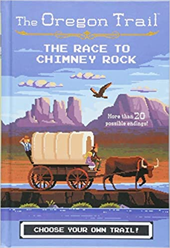 Image result for oregon trail race chimney rock cover