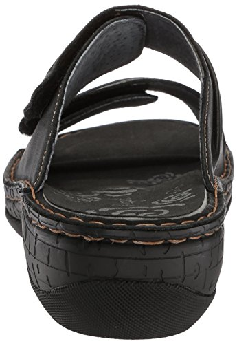 Pictures of Propet Women's June Slide Sandal Black 9 Wide US WSO001L 8