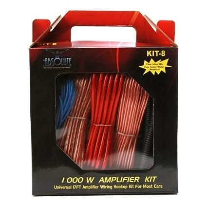 Absolute Kit 0 0 Gauge Amplifier Kit