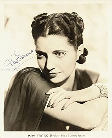 Kay Francis Photograph Signed At Amazons Entertainment
