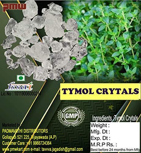 Pmw Thymol Crystals, 100 g Price & Reviews