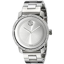Movado Women's 3600149 BOLD Analog Display Swiss Quartz Silver Watch