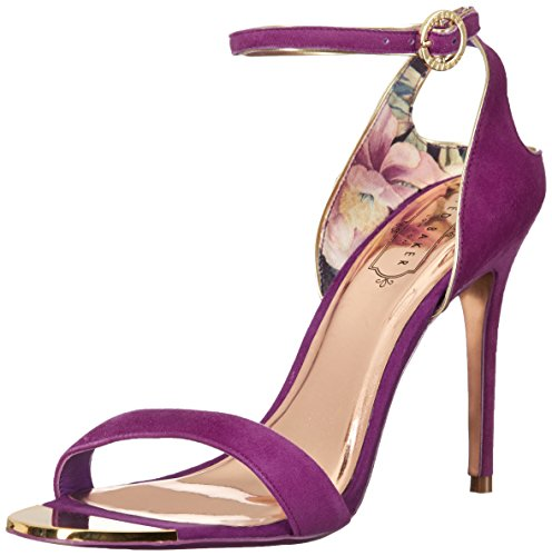 Ted Baker Women's Mirobell Heeled Sandal, Pink, 8 M US