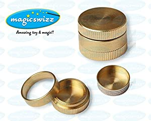 Magicswizz brand Amazing toy 1x Magic Trick Dynamic Coins Stage Close Up Party Show Magician Prop Gold