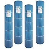 4-Pack Guardian Antimicrobial Pool Spa Filter Replaces Unicel C-7495 Hayward Swimclear C5020 5000 CX1260RE FC-1296 PA126 Microban