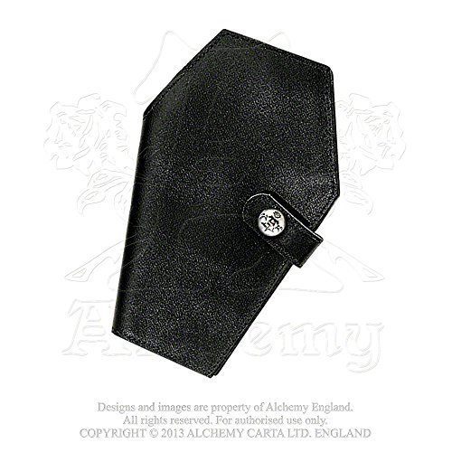 Coffin Design Wallet - Made of Quality Leather