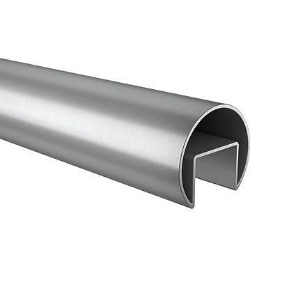 Cristal listones Tubo de acero inoxidable Ø 42,4 mm 2,5 M V2 ...