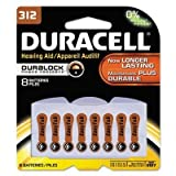 "Duracell - 3 Pack - Button Cell Lithium Battery #312 8/Pk ""Product Category: Breakroom And Janitorial/Batteries & Electrical Supplies"""