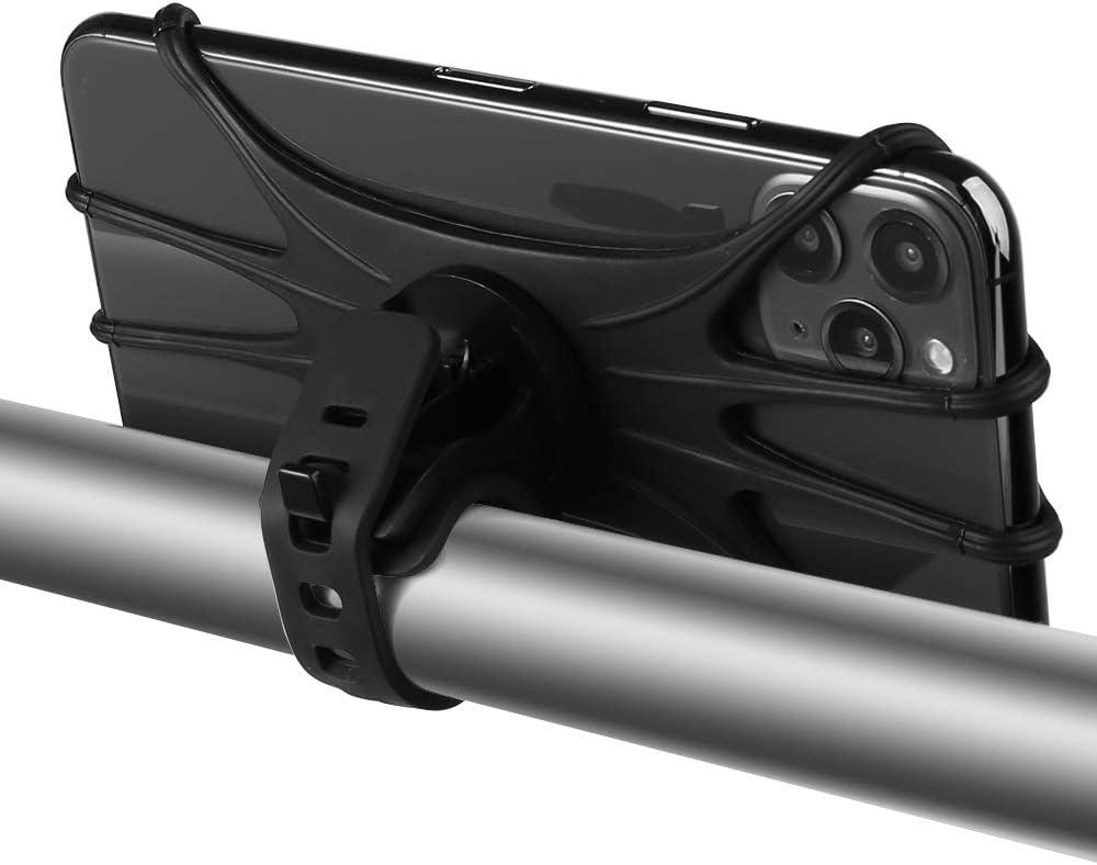 OnePlus 8//7// 6T Google Pixel 3a,Pixel 4//3 XL BLU G9 E6,E5 Play 360/°Rotation Bike Phone Mount Holder G7 G6 Adjustable Bicycle Handlebar GPS Phone Holder Cradle for Motorola Moto G8+ Plus//Play