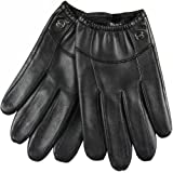 Elma Men's Touch Screen Nappa Leather Winter Gloves Iphone Ipad Smart Phone (L, Black)