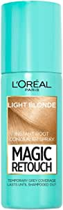 L'Oreal Paris Instant Root Concealer Spray With Magic Touch For Light Blonde 75ml