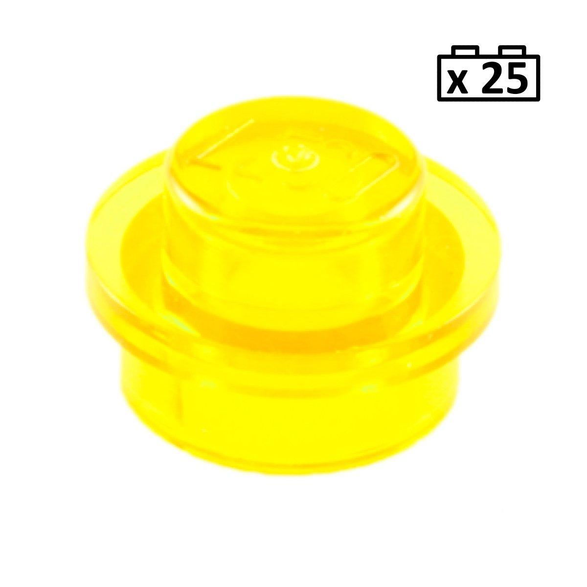 NEW x25 Lego Plates 1 x 1 1x1 Round Orange Plate