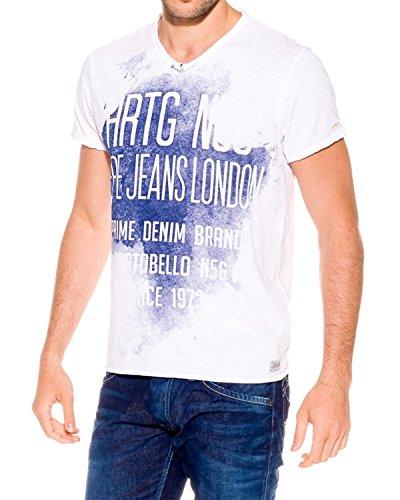 Pepe Jeans - Men's T-Shirts Ballard - White, XXL (Pepe Jeans Brillen)