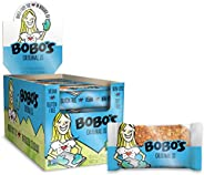 Bobo's Oat Bars, Original, 3 oz Bar (12 Pack), Gluten Free Whole Grain Snack and Breakfast Bar
