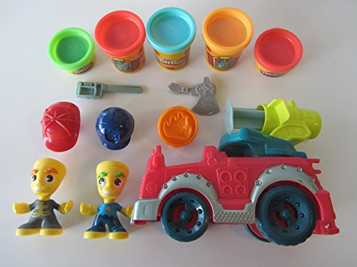 Play Doh Fire Truck Police Playsets product image