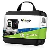 gopro removable - Review XP - Complete water Equipment Bundle for GoPro cameras - Includes Medium Shockproof Carrying case + Floating Bobber + Removable Floaty Sponge + Standard Backdoor + Fog Free Inserts & more.